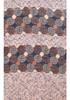 Brown Fuzzy Stripe Print Soft Light Summer Scarf SCX526