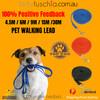 Dog Training Lead - Extra Long  Black Leash