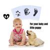 2 Pack Newborn Footprint Handprint-Blue