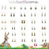 Easter Bunny Earrings EHM1274