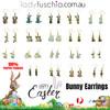 Easter Bunny Earrings EHM1275