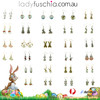 Easter Bunny Earrings EHM1296