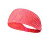 Workout Yoga Headband-Coral