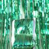 Copy of Metallic Tinsel Curtain Foil 2m - Green