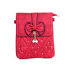 RedButterfly Bow with Pearl Crossbody Bag
