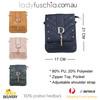 Sand D Design with Golden Stud Crossbody Bag