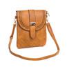 Camel Small Clip-on Crossbody Bag