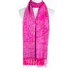 Women 100% Pashmina Premium Winter Scarf Wrap Hot Pink SCP625