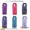 Women 100% Pashmina Premium Winter Scarf Wrap Purple SCP626