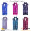 Women 100% Pashmina Premium Winter Scarf Wrap Black & Wine SCP627
