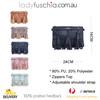 Grey Chic Design with Tassel Crossbody Bag