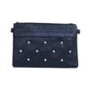 Black Golden Stud Symmetric Crossbody Bag