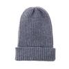 Dark Green Plain Winter Beanie Hat HATM190-3
