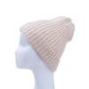 Beige Plain Winter Beanie Hat HATM190-10