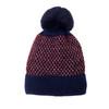 Navy Faux Fur Pom Winter Beanie Hat HATM235-4