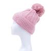 Pink Faux Fur Pom Winter Beanie Hat HATM247-1