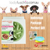 Happy Hunting Healthy Slow Feed Dog/Cat Bowl - Little Heart Design Green