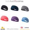 Workout Yoga Headband-HB Stripe Navy