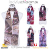 RED Lady's Summer Light Weight Scarf SCX889-2