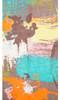 ORANGE Lady's Summer Light Weight Scarf SCX898-4