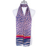 R BLUE Lady's Summer Light Weight Scarf SCX899-4