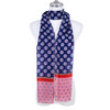 R BLUE Lady's Summer Light Weight Scarf SCX900-1