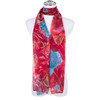 RED Lady's Summer Light Weight Scarf SCX902-4