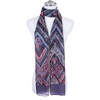 LILAC Lady's Summer Light Weight Scarf SCX915-4