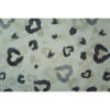 Blue Heart and Butterfly Pattern All season Sarf