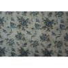 Blue Folral Print All Seasons Scarf