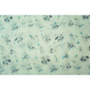 White Floral Pattern All Seasons Scarf