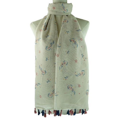Beige Bella All Season Scarf