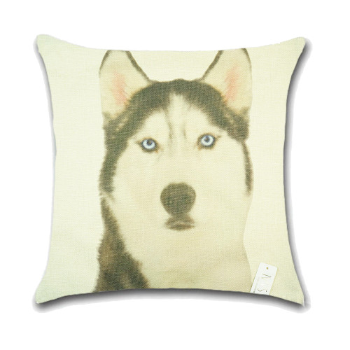 Dog Cushion Cover Waist Throw Pillow Case PCU0147
