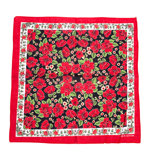 100% COTTON BANDANAS Paisley Square Head Scarf BPS025