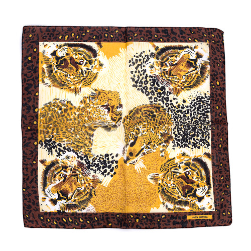 100% COTTON BANDANAS Paisley Square Head Scarf BPS031