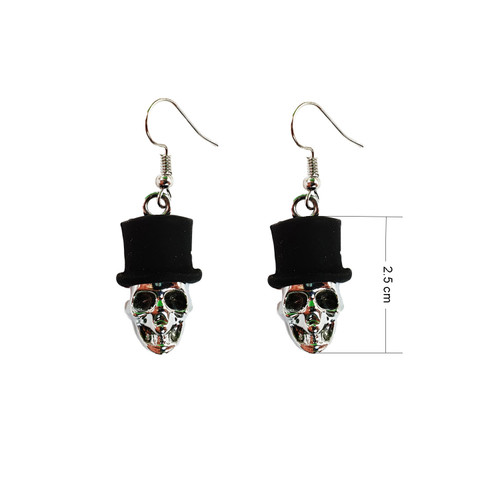 Halloween Costume Fancy Spooky Earring EHM1028A