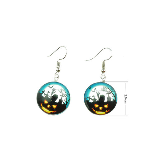 Halloween Costume Fancy Spooky Earring EHM1032