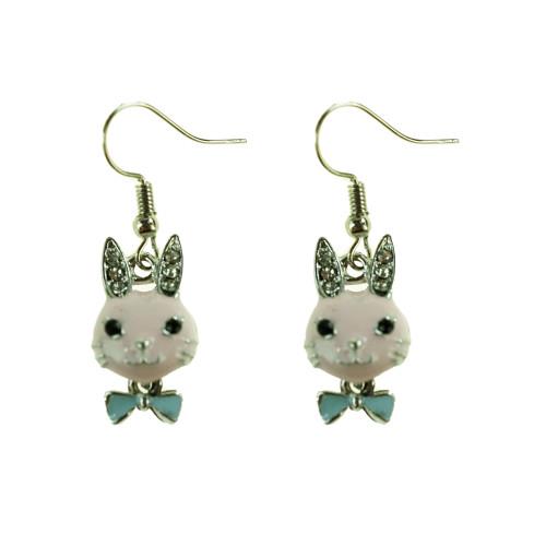 Easter Bunny Earrings EHM1277 PINK