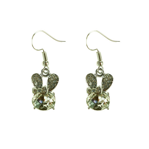 Easter Bunny Earrings EHM1278 CLEAR
