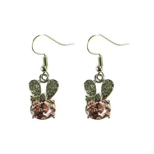 Easter Bunny Earrings EHM1278 PINK