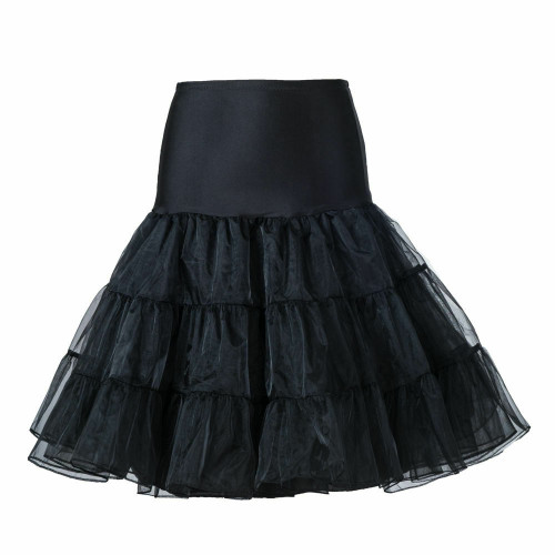 Women Tutu Skirt-Black