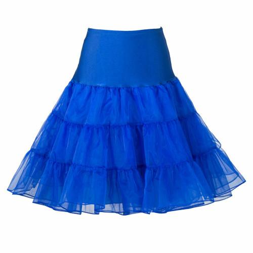 Women Tutu Skirt - Royal Blue