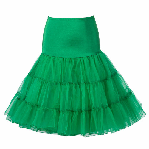 Women Tutu Skirt - Green