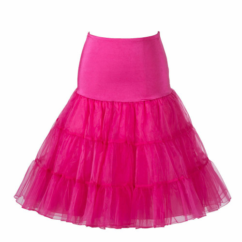 Women Tutu Skirt - Hot Pink