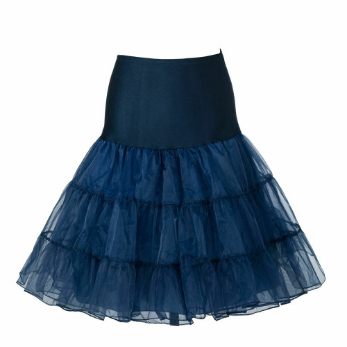 Women Tutu Skirt - Navy