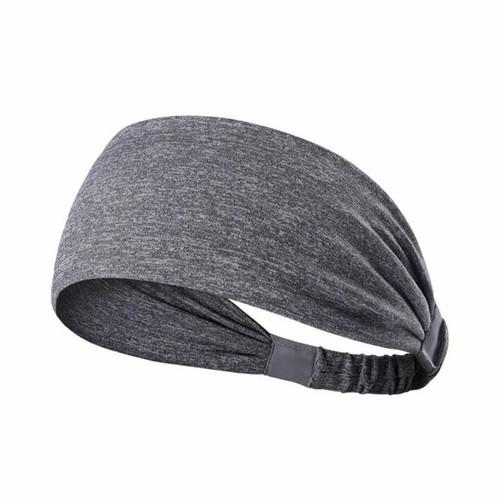 Workout Yoga Headband-Light Grey