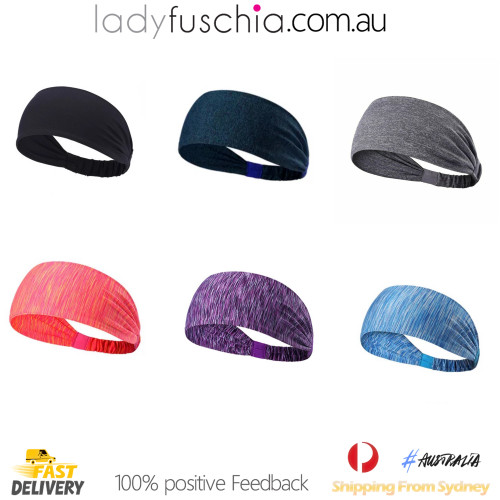 3 Packs Workout Yoga Headband(Leave comment for colour selection)