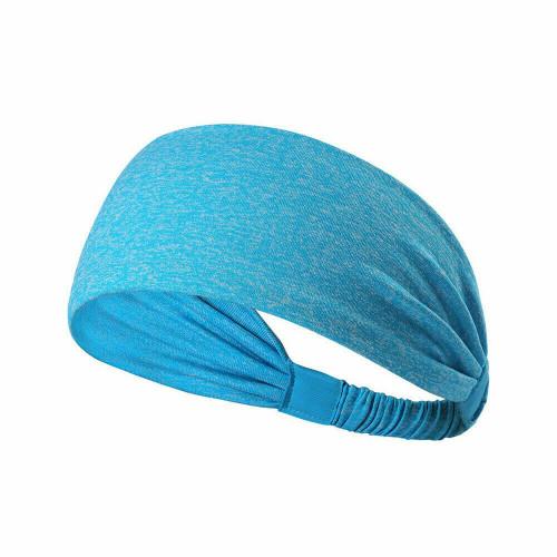 Workout Yoga Headband-Blue