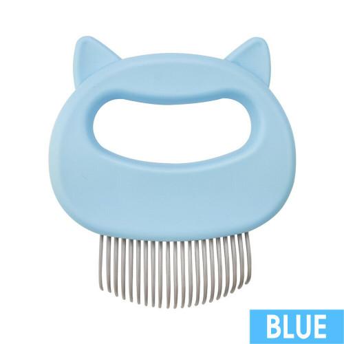 Cat/Dog Massager Comb Blue