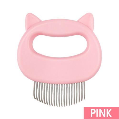 Cat/Dog Massager Comb Pink